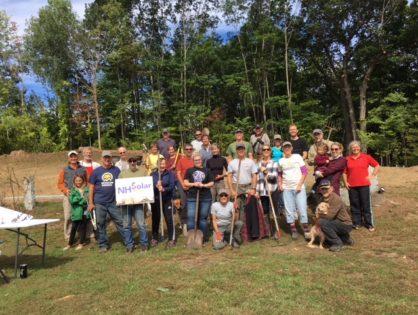 NH Solar Shares Equinox Extravaganza Volunteer Work Day a Big Success