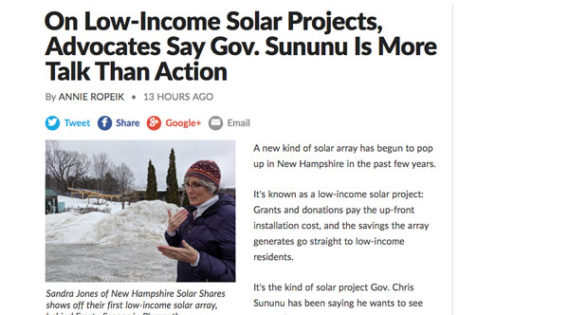 NH Solar Shares on NHPR